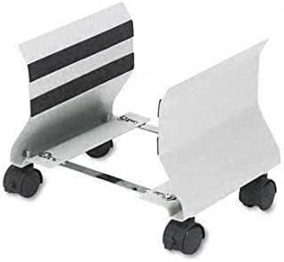 Fellowes : Adjustable Premium CPU Stand, 8w x 9d x 9-1/2h, Platinum -:- Sold as 2 Packs of - 1 - / - Total of 2 Each