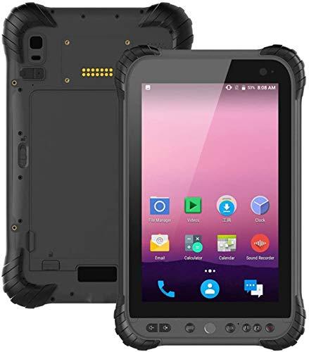 Escáner de código de barras de mano Android 7.1 OS Industria ultra robusta Tablet PC con pantalla táctil IPS de 8 pulgadas, Qualcomm Snapdragon 435 Cortex A53 OCHO CORE CPU 3GB RAM + 32GB ROM WIFI GPS