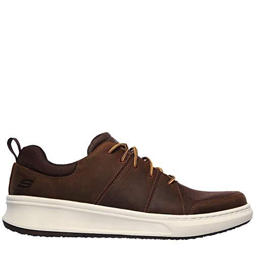 Skechers Ralden Shoes Hombre Zapatillas Deportivas Casuales Marrón EUR 44