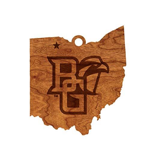 LazerEdge NCAA Wooden Ornament (Bowling Green State University Falcons)