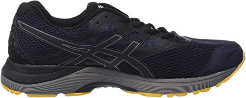 Asics Gel-Pulse 9 G-TX T7d4n-5890, Zapatillas de Running para Hombre, (Peacoat/Black/Gold Fusion), 42.5 EU
