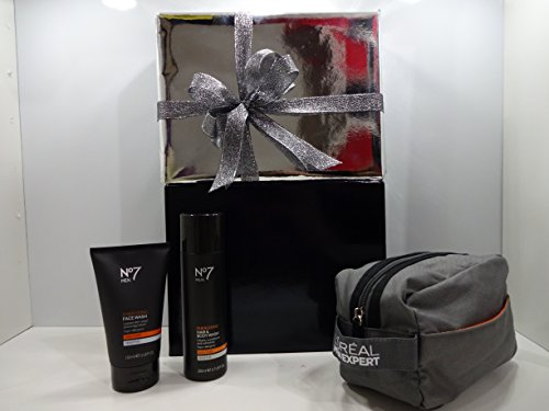 Nº 7Set de regalo de lujo para hombre con libre L 'Oréal Men Neceser