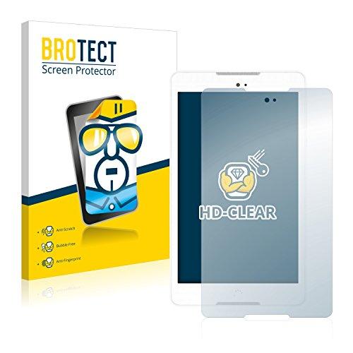 BROTECT Schutzfolie kompatibel mit BQ Aquaris M8 (2 Stück) klare Bildschirmschutz-Folie