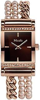 ميساكي ساعة رسمية نساء انالوج بعقارب متعددة - QCRWVENEZIA