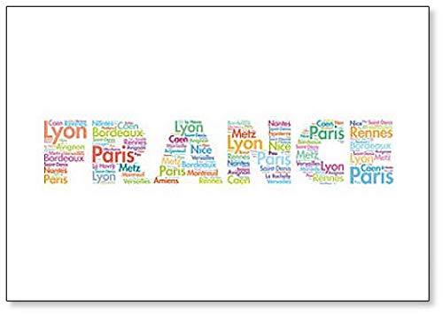 France Word Cloud - Classic Koelkast Magneet