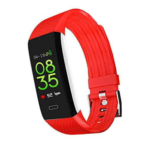 FEE-ZC Festival Gift Fitness Tracker, Hartslag Fitness Smart Horloge Waterdichte IP67 Activiteit Tracker Smart Armband met Stopwatch GPS Stappenteller