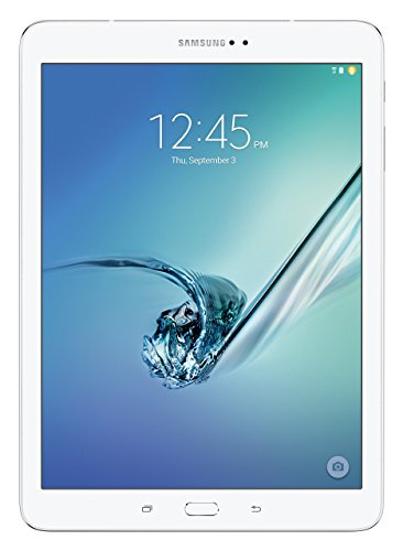 Samsung Galaxy Tab S2 9.7 32GB White - tablets (Full-size tablet, Android, Slate, Android, White, Alarm clock, Calculator, Calendar, Events reminder, Notes, To-do list) (Renewed)