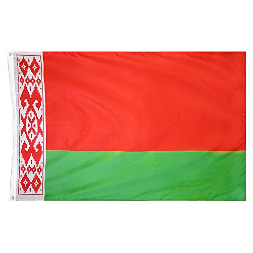 Naicasy 90* 150cm Belarus Flagge 1Pack