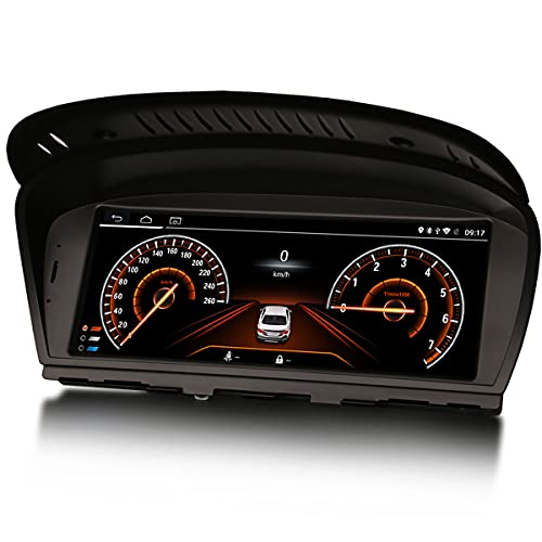 Erisin Radio de Coche Estéreo Navegación de Automóvil for BMW 3 Series E90 E91 E92 E93 5 Series E60 E61 6 Series E63 E64 CCC CIC 8.8 Pulgadas Android 10.0 CarPlay Android Auto WiFi RDS 2GB + 32GB