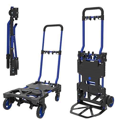 Photo of HandiMoova 2in1 70kg sack truck, 135kg folding platform trolley, hand truck; Converts in seconds