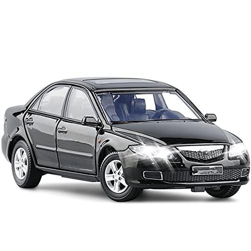 Modello Auto 1:32 2008 para M-azda 6 Modelo De Coche Aleación Fundido A Presión Modelo De Coche Luz De Sonido Juguete para Niños (Color : 2)