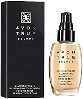 Avon True Colour Calming Effects Illuminating Foundation Found De Teint - Nude