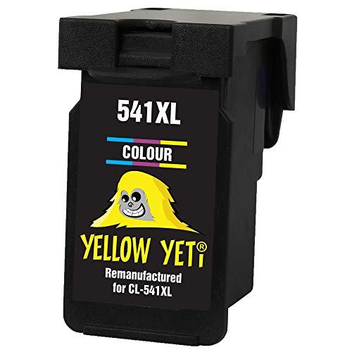 Yellow Yeti CL-541XL CL-540 XL Cartuccia d'Inchiostro Rigenerata Colore per Canon Pixma MG3250 MG3550 MG4250 MG3150 MX395 MX535 MG3650 MG2250 MG2150 MX525 MX475 MX435 MX375 MX455 MG4150