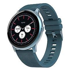 Noise NoiseFit Evolve Full Touch Control Smart Watch with AMOLED Display - Dusk Blue,Nexxbase,Evolve
