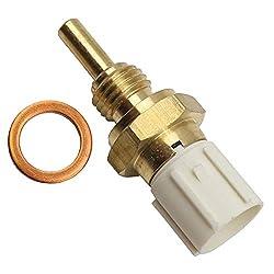 Replace # 37870PLC004 SEEU.AGAIN Engine Coolant Temperature Sensor 37870-PLC-004 Compatible with Honda Civic Element Pilot Ridgeline Accord S2000 CR-V Odyssey Acura RL TSX RSX TL MDX