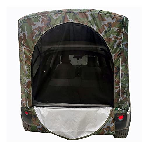 Tienda de campaña para Coche SUV Toldo Trasero Impermeable Puerta Trasera del Coche Sombrilla para Acampar al Aire Libre Tour de conducción autónoma Pesca Barbacoa Viajes (Camouflage B,L)