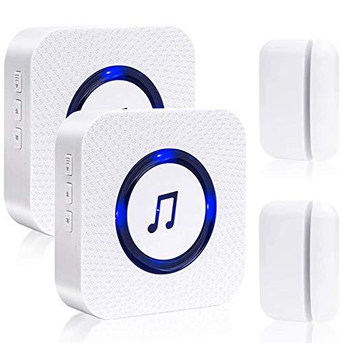 SanJie Wireless Door Open Chime Entry Alert Chime Door Sensor