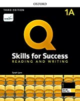 Q: Skills for Success: Level 1: Reading and Writing Split Student Book A with iQ Online Practice
