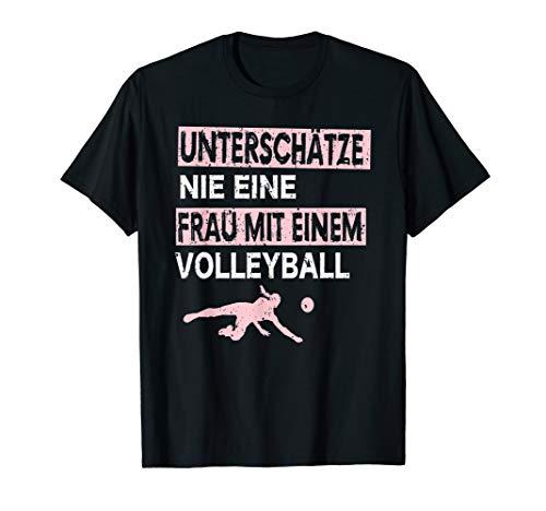 Beachvolleyball Volley Ball Trainer Volleyballnetz Geschenk T-Shirt