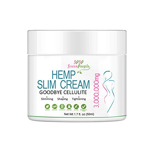 Slimming Cream for Belly with Hemp Oil - Hemp Hot Cream 3,000,000mg Ignite Sweat Cream for Men and Women - Thermogenic Weight Loss Natural Anti Aging Cream for Shaping Waist, Abdomen and Buttocks