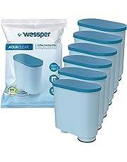 Wessper Waterfilter compatibel met Philips AquaClean CA6903/10 CA6903/22 CA6903 kalkfilter, Aqua Clean filterpatroon voor Saeco en Philips volautomatische espressomachines, 6 stuks