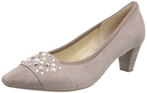 Gabor Shoes Damen Basic Pumps, Beige (Nude), 38.5 EU