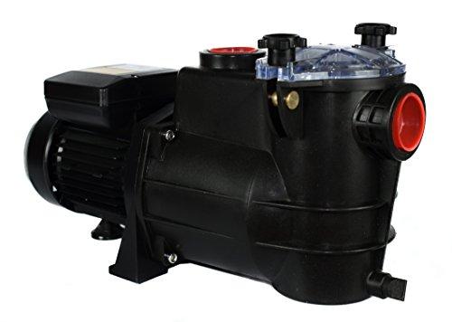 Bomba para Piscina PSH, Bomba de Piscina eléctrica de 1 HP (CV) Modelo MINI-100 MONOFÁSICA, Especialmente diseñada para la depuración de Piscinas domésticas. (1 HP)