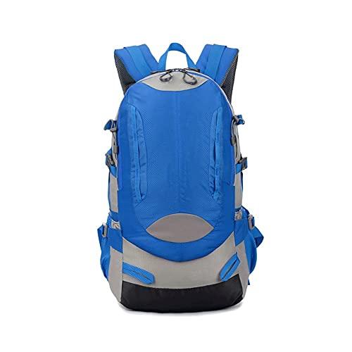 HEIYANQUANLXB Mochila Senderismo, Bolsas al Aire Libre 40L, Mochila Transpirable Impermeable de Nylon, Mochila para Acampar para Caminar para Viajar Bolsa de Deportes de Mochila