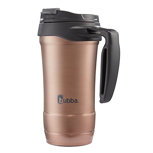 bubba Hero DualWall VacuumInsulated Stainless Steel Travel Mug 18 oz Rose Gold