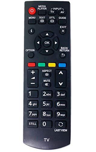 VINABTY N2QAYB000816 Fernbedienung für Panasonic TX-L19XM6B TX-L19XM6E TH-32A410RA TX-32A400B TX-32A400E TX-32A400Y TX-32AR310 TX-32AW404 TX-42A400B TX-42A400E TX-42AR400 TX-42AR400A TX-42AW404 TV