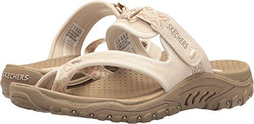 Skechers womens Reggae - Trailway sandal, natural, 9 M US