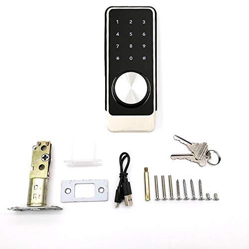 OS184B-1 Smart Door Fingerprint Lock Control Remoto Smart Deadbolt Teléfono WIFI Cerradura...