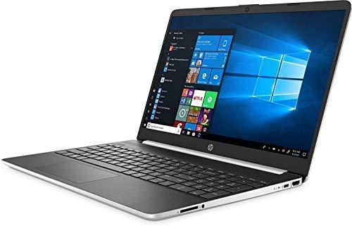 HP 15-DY100 Slim Laptop in Silver Intel i5 up to 3.6GHz 12GB RAM + 16GB Optane 256GB SSD 15.6in FHD Webcam WiFi (Renewed)