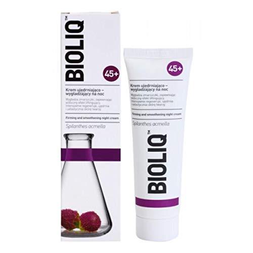 bioliq 45+–Straffende und smoothening Nachtcreme–50ml–Glättet Linien und Fältchen und hat eine Sichtbare Lifting Effekt. Intensiv regeneriert, strafft und macht die Haut geschmeidig.