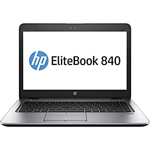 HP EliteBook 840 G3 14 inches HD Ultrabook Core i5 6200U up to 2.8GHz, 8GB RAM, 256GB SSD, Wireless 11ac & Bluetooth 4.2, Windows 10 Pro – Plain non-HP OEM Packed – UK keyboard Layout (Renewed)