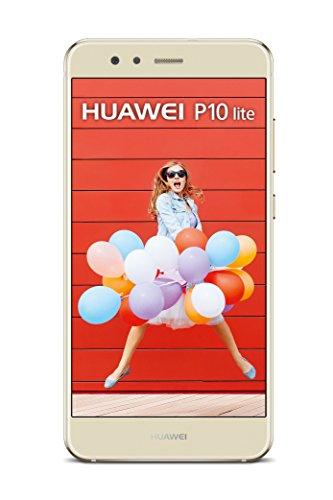HUAWEI P10 lite Single-SIM Smartphone (13.2 cm (5.2 Zoll) 32 GB interner Speicher, Android 7.0) platinum gold