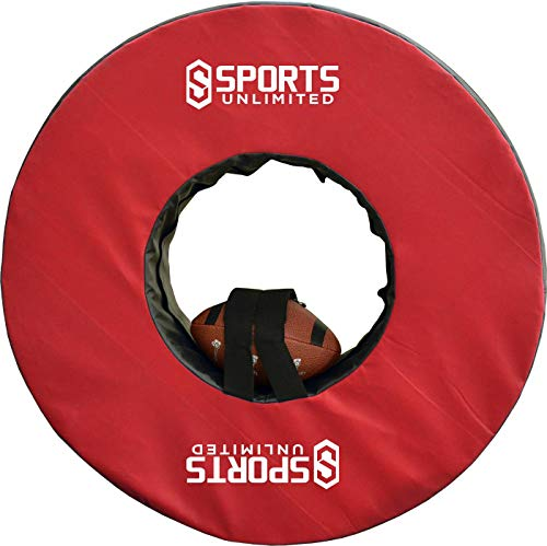 Sports Unlimited Football Tackling Ring with Straps (Red 40')