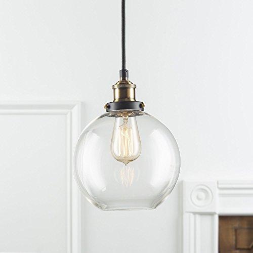 FRIDEKO HOME Vintage Glass Pendant Light