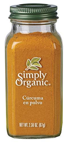 Simply Organic Cúrcuma en Polvo, 67 g