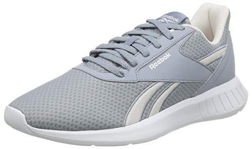 Reebok Lite 2.0, Zapatillas de Running Mujer, METGRY/GLAPNK/Blanco, 41 EU