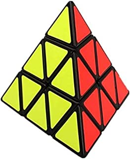 Tetrahedral Pyramid Shaped Rubik cube Child Toys Black , 2724655892282