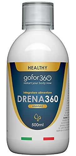 DRENA360 | Drenante e Depurante 100% Naturale per Ridurre il Gonfiore e Depurare l Organismo | gofor360