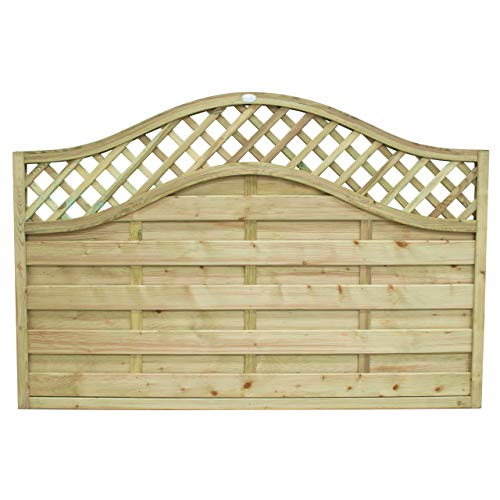 Forest Screen (1.2 m High) - Pack of 3, 4 ft Europa Prague Panel
