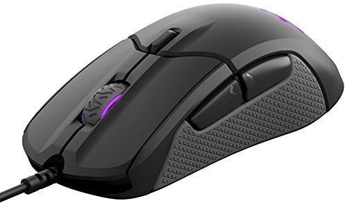 HyperX HX-KB1SS2-DE Alloy FPS RGB Gaming Tastatur, Kailh Silver Speed Switches (QWERTZ deutsches Layout) & SteelSeries Rival 310, optische Gaming-Maus, RGB-Beleuchtung, 6 Tasten, Farbe schwarz
