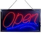 OPEN Elektronisches LED-Schild - das originale intelligente leuchtende LED-Schild für...