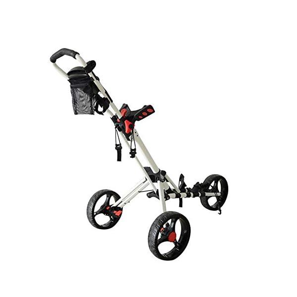 CBPE-Chariot-De-Golf–360–Spin-Roue-Avant-3-Roues-Action-avec-Support-Parapluie-Th-Chariot–Tirer-Lger-Et-Compact-Facile–Ouvrir-Chariot-Lger