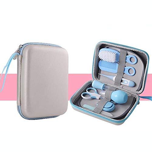 Juego de manicura para el cuidado del bebé de 8 piezas, kit de cuidado de la salud, producto de herramienta de enfermera diaria para el cabello de uñas