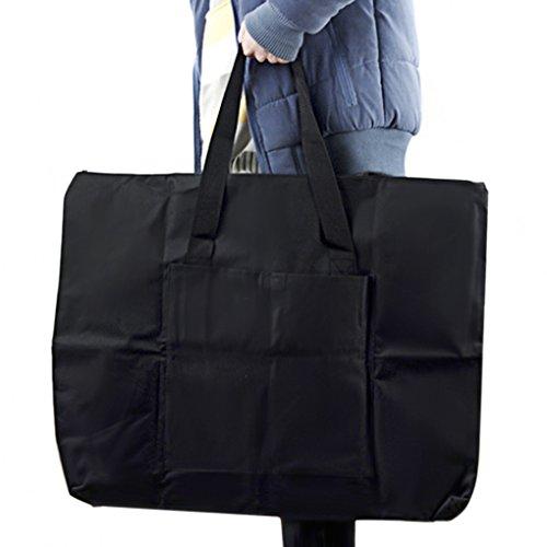 Bolsa de transporte para tablero de dibujo A2, impermeable, bolsa de lona multifunción, correa de hombro ajustable