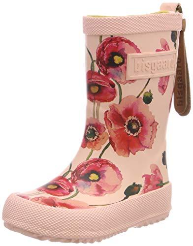 Bisgaard Mädchen Rubber Boot-Fashion Gummistiefel, Pink (Nude Flowers 179), 28 EU