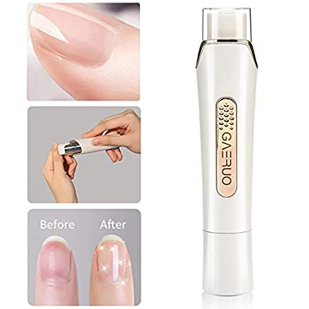 Beauty Shopping Premium Electric Manicure Pedicure Tool, Rechargeable Nail Buffer and Polisher, Easily